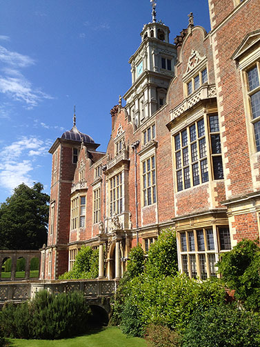 Nearby Blickling Hall